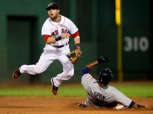 Dustin Pedroia will most likely be retiring a Red Sox legend (Photo: Google Images)